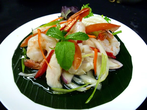 Spicy Seafood Salad